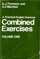 A Practical English Grammar - Combined Exercises Voulme One (2nd edition)